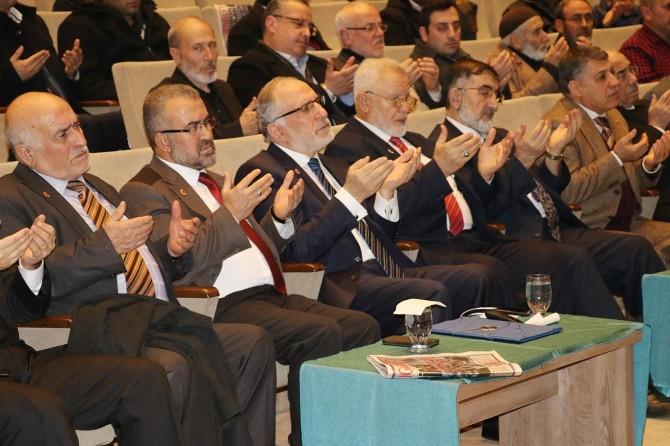 Erbakan Hoca Gaziantep'te anıldı