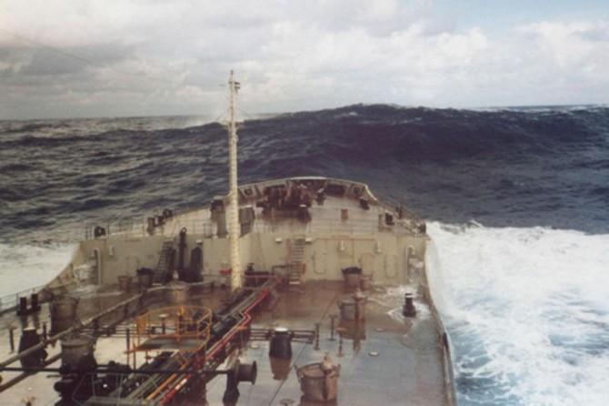 Sinop'ta kuru yük gemisinde patlama
