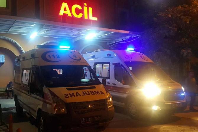 Mardin'de taşlı sopalı kavga: 2 yaralı