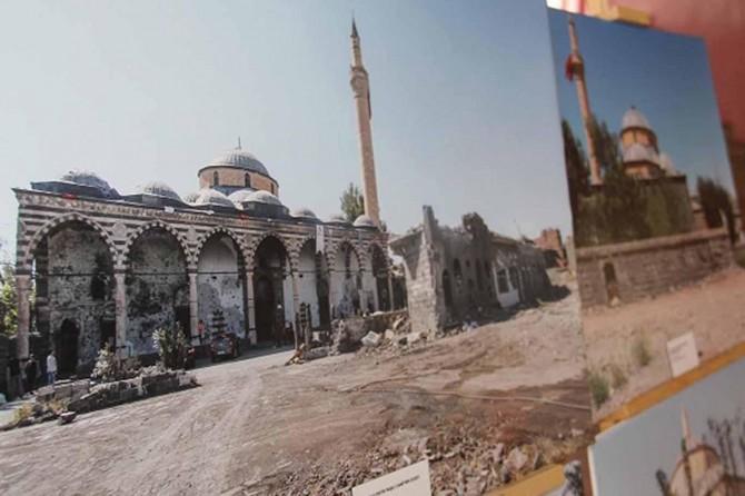 Korunması gereken cami ve mescitler yeniden inşa edilecek