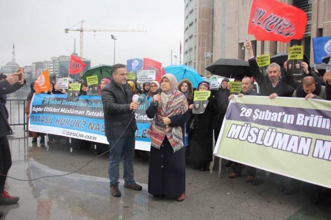 """""""Müslüman mahkûmlara özgürlük!"""""""