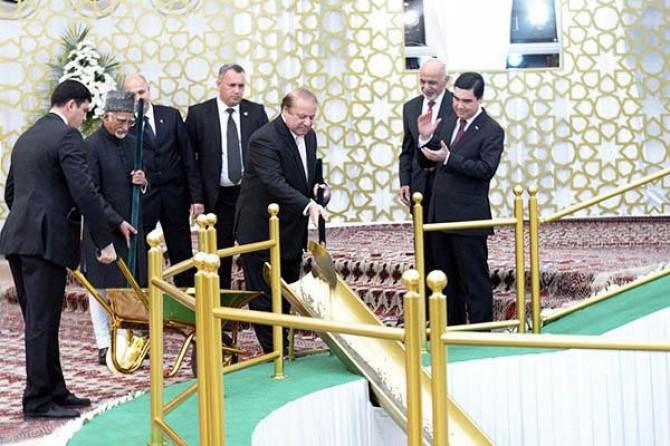 Orta Asya'nın enerji haritasını değiştirecek proje