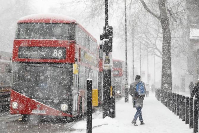 Avrupa'yı Sibirya soğukları vurdu: 50 kişi öldü