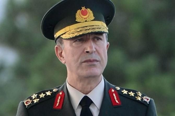 Genelkurmay Başkanı Akar Irak'ta