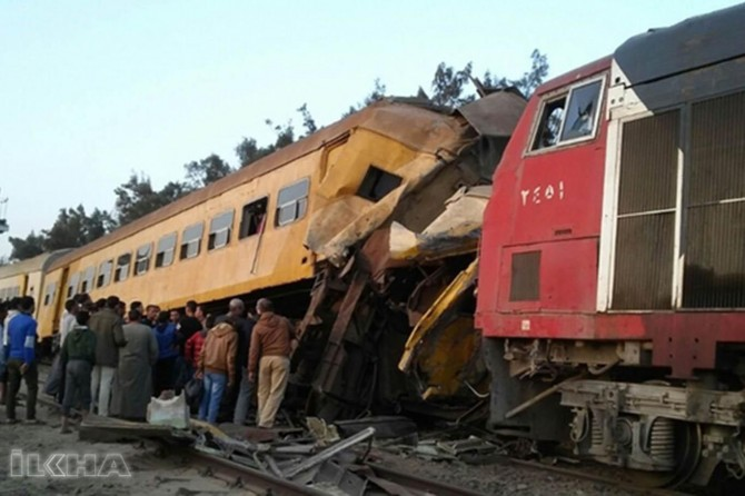 Trains collision in Egypt kills at least 15, injured 40