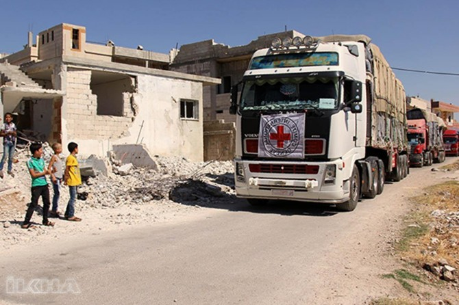 Afrin and Tell Rifaat are being helped: Red Cross