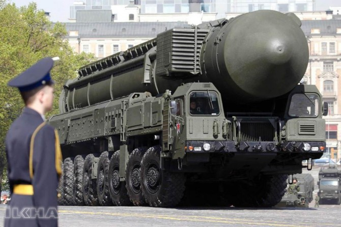 """""""We have a nuclear missile that could hit every part of the world"""""""