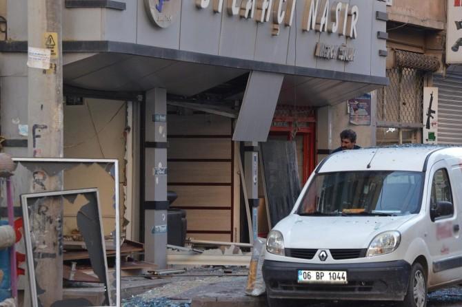 Diyarbakır Bağlar'da av bayiinde tüp patladı