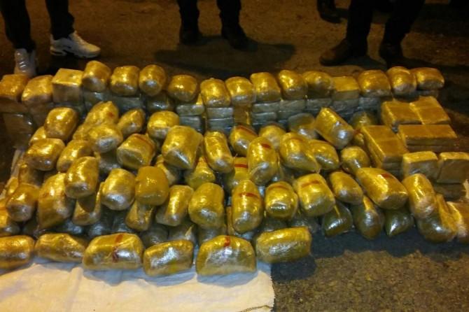 Gaziantep'te 150 kilo eroin ele geçirildi
