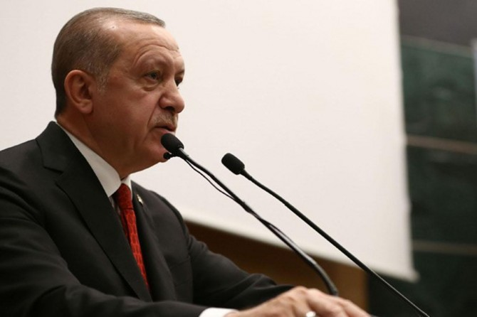 "Statement on ""retrial of victims of Feb 28"" from President Erdoğan"