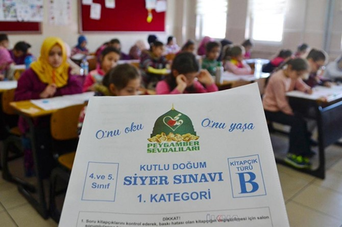 Siyer Sınavı'nda ödül kazananlar açıklandı