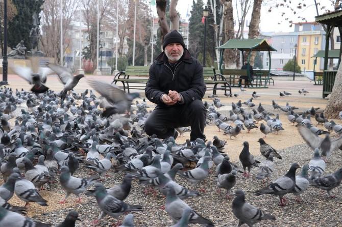 Kuş sevgisi geçim kaynağı oldu