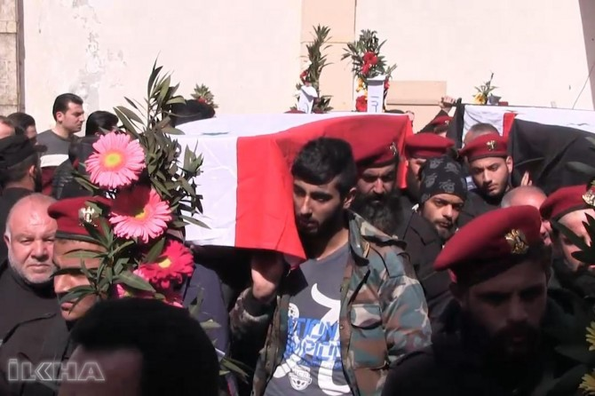 """""""Turkiye warplanes hit pro-regime forces in Syria"""""""