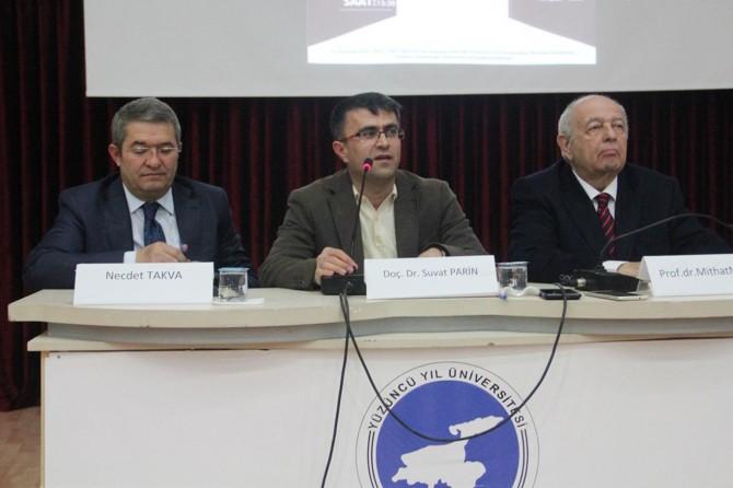 """YYÜ'den """"Van'ın Son Yüzyılı Ekonomik Karnesi"""" konulu program"""
