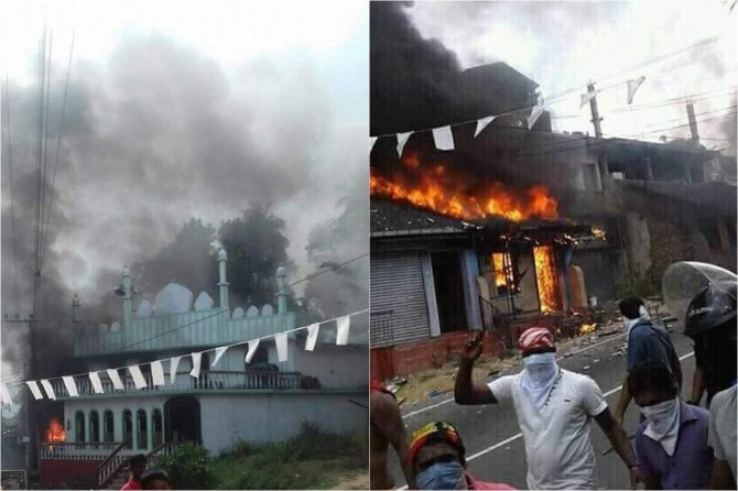 Buddhist gangs kill Muslims and mosques set ablaze