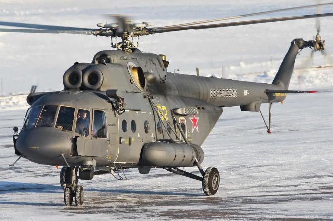 Çeçenistan'da Rus helikopteri düştü: 8 ölü