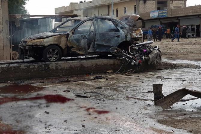 Cerablus'ta bombalı araçla saldırı
