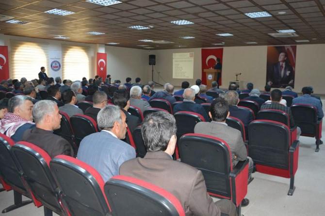 Viranşehir İlçe Müftülüğünden bilgilendirme toplantısı