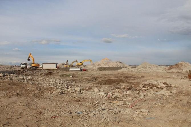 Kırklar Dağı'ndaki konutların yıkımı tamamlandı