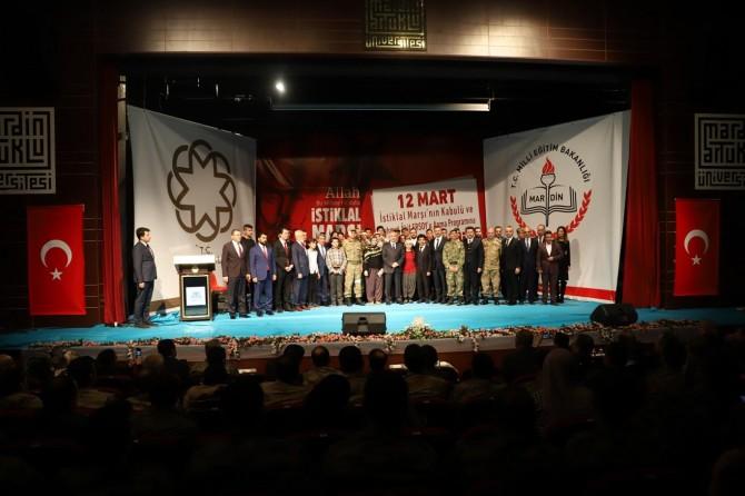 Mehmet Akif Ersoy Mardin'de anıldı