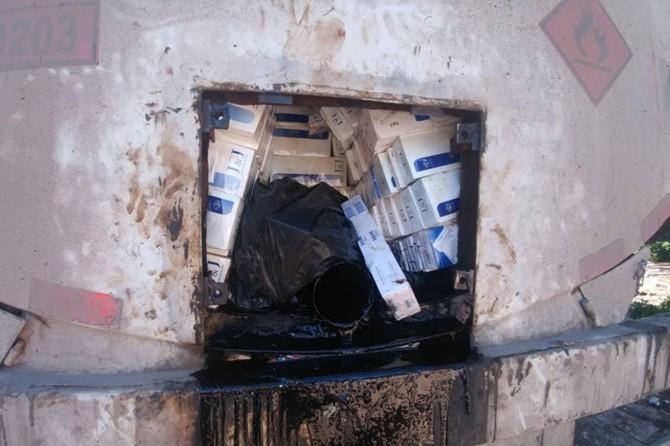 Şanlıurfa'da esrar ve kaçak sigara ele geçirildi
