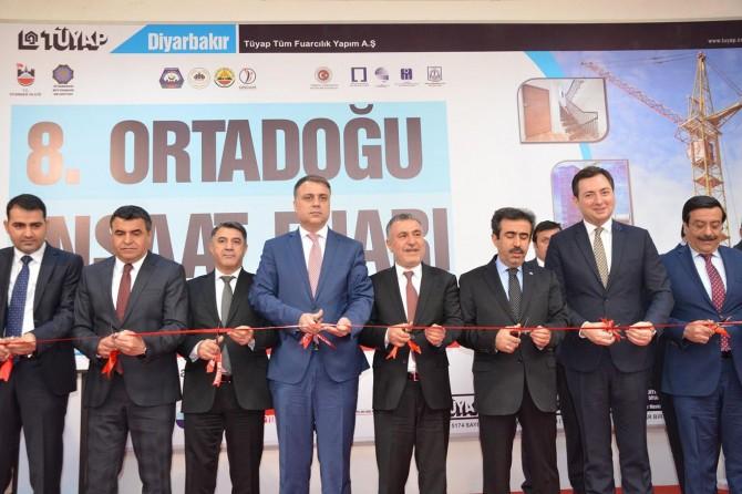 Diyarbakır'da 8'inci Ortadoğu İnşaat Fuarı açıldı