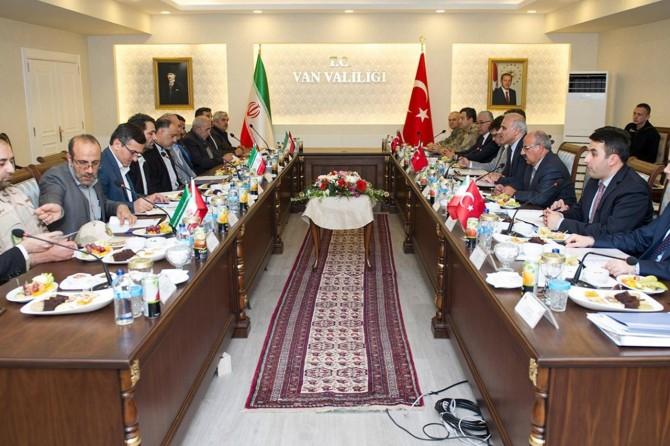 Van'da Türkiye-İran