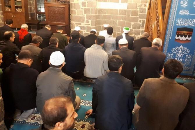 """Hz. Süleyman Camii'nde """"Sabah Namazı Buluşması"""" gerçekleştirildi"""