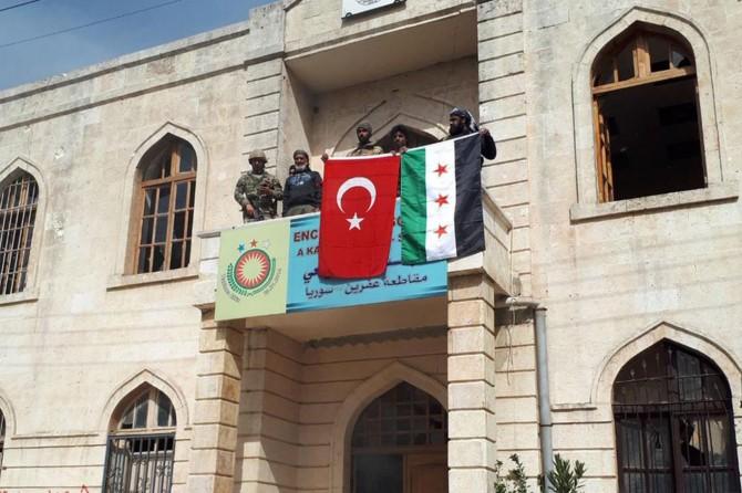Afrin'de güvenlik faaliyetleri yürütülüyor