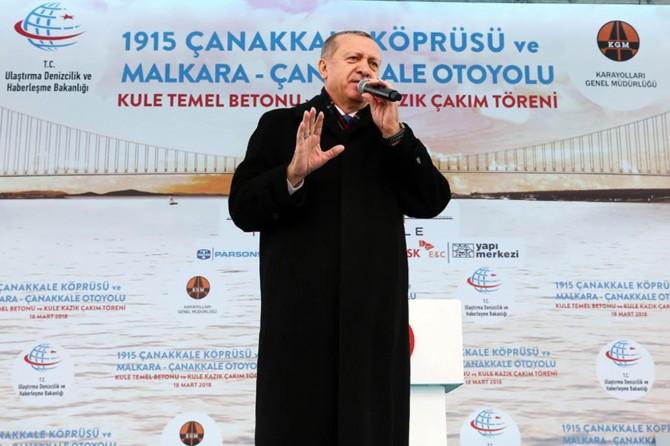 Erdoğan: Vefa borcumuzu ödemek için çalışıyoruz