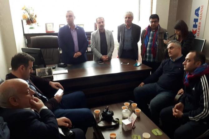 Karadenizli Gazetecilerden KGC'ye ziyaret