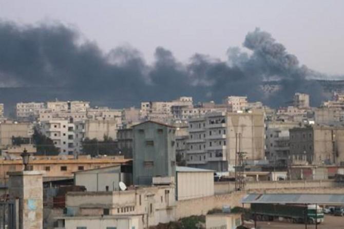 Afrin'de tuzaklanan binada patlama: 11 ölü