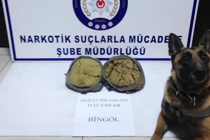 Bingöl'de uyuşturucu ve kaçak sigara operasyonu