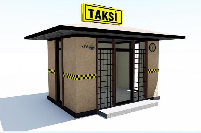 Van'da taksi durakları yenilenecek