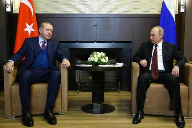 Cumhurbaşkanı Erdoğan'dan Putin'e tebrik