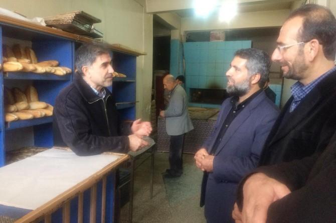 HÜDA PAR Erciş İlçe Teşkilatından esnaf ziyareti