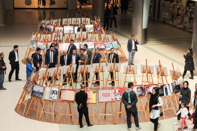 Çanakkale savaşları fotoğraf sergisi açıldı