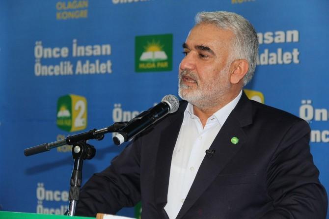 HÜDA PAR Genel Başkanı Yapıcıoğlu Van'a geliyor