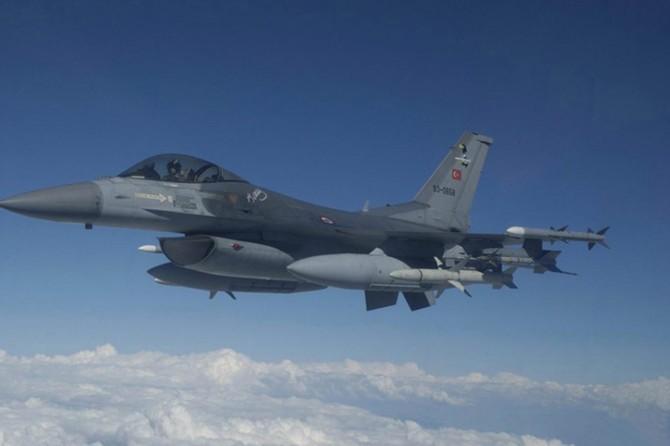 Nevşehir'de F-16 uçağı düştü