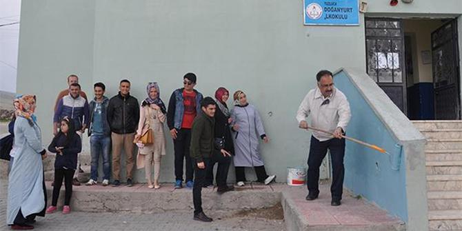 Iğdır Üniversitesinden köy okuluna destek