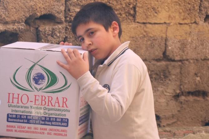 IHO-EBRAR Türkiye'deki yardımlarını sürdürüyor