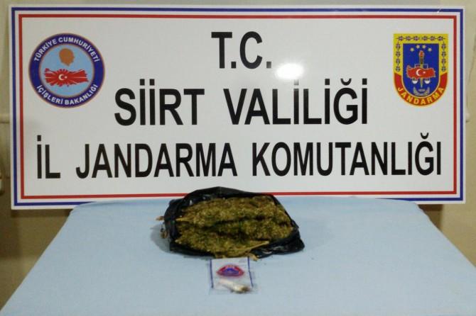 Siirt'te uyuşturucu operasyonu: 5 gözaltı