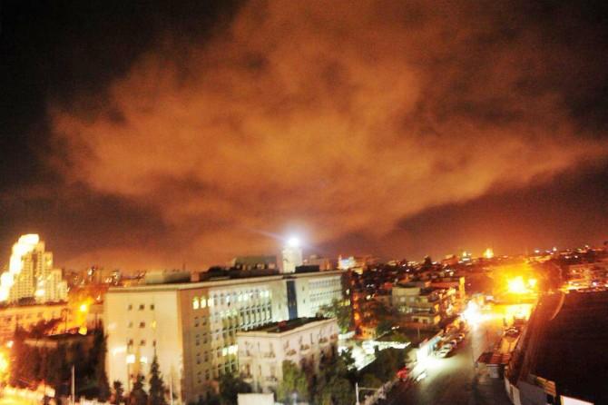 ABD'nin hava saldırısı sonrası Suriye'den açıklama