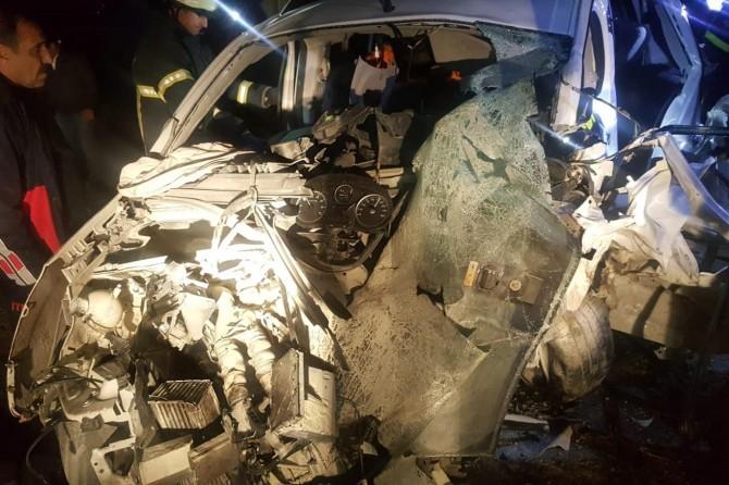 Batman'da trafik kazası: Bir ölü 10 yaralı