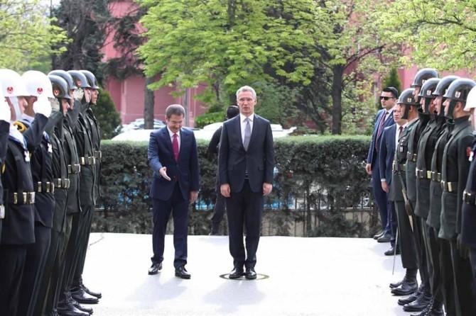 Sekreterê Giştî yê NATO hat Enqerê