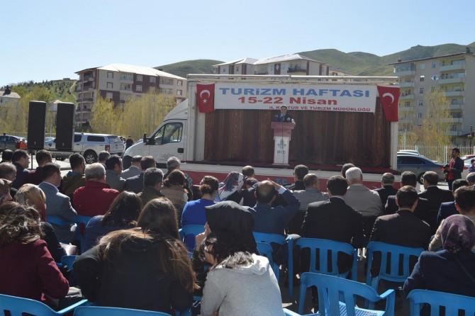 Bitlis'te Turizm Haftası çeşitli etkinliklerle başladı