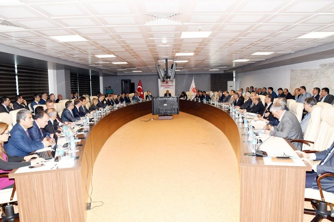 Adıyaman 2018 yılı İl Koordinasyon Kurul Toplantısı yapıldı