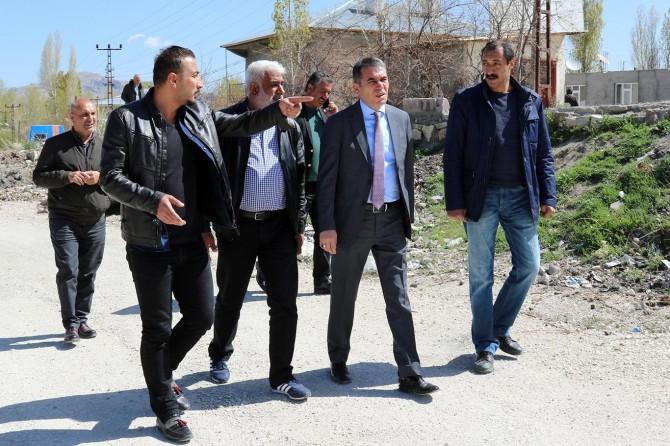 Büyükşehir belediyesi 2018 yılı yol çalışmalarına start verdi