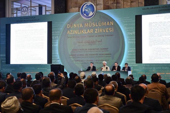 """""""Dünya Müslüman Azınlıklar Zirvesi"""" sonuç bildirgesi açıklandı"""