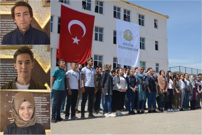 Öğrenciler PKK'nin katlettiği öğretmenin okulunu ziyaret ettiler